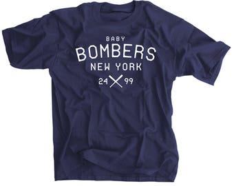 The Baby Bombers New York Baseball T-Shirt - Aaron Judge - Gary Sanchez