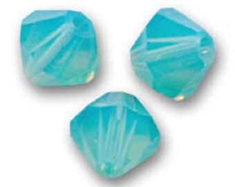 1 lot 20 swarovski bicones 4mm pacific opal Swarovski Crystal