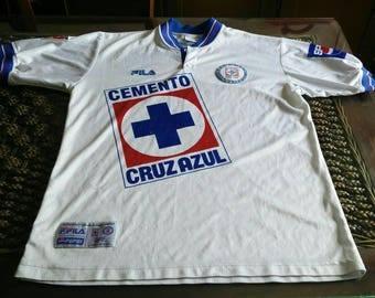 Rare 90s Cruz Azul FILA jersey