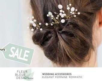 bridal hair pins | gold hair pins | pearl hair pins | wedding hair accessories | pearl hair pins for wedding | hair accessory