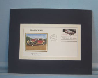 Honoring the 1932 Packard Automobile & First Day Cover of its own stamp