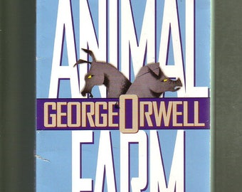 ANIMAL FARM by George Orwell. 1996 Signet Classics Paperback In Like-New Condition.