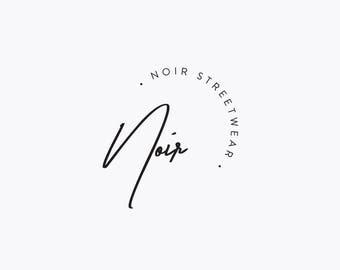 Premade Fashion Logo Design - Minimalist, Modern, Stylish, Sophisticated Branding