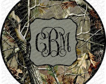Camo- Pick your color for Monogram, Name or Initial