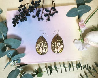 Wuthering Heights Handpainted Earrings