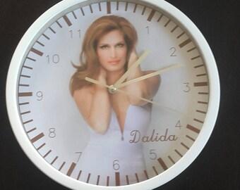 clock wall decor Dalida