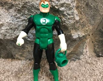 Vintage Super Powers Action Figure Green Lantern - Kenner DC Comics 1984