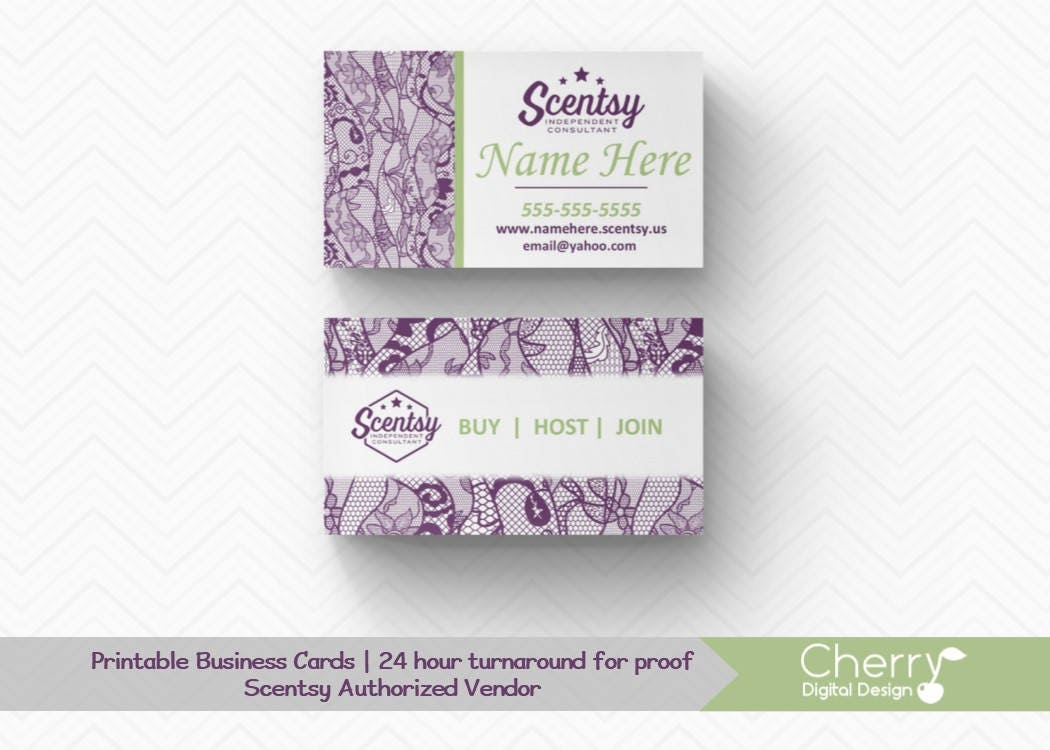 Purple lace scentsy business cards authorized scentsy vendor purple lace scentsy business cards authorized scentsy vendor vintage floral lace scentsy consultant card colourmoves