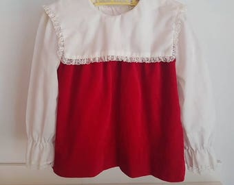 Vintage girls top approx size 3
