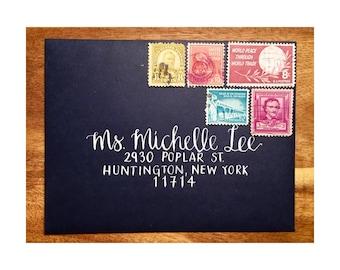 Lettering and Addressing Envelopes