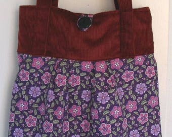 'Autumn flowers' tote bag