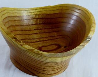 Natural edge bowl-698