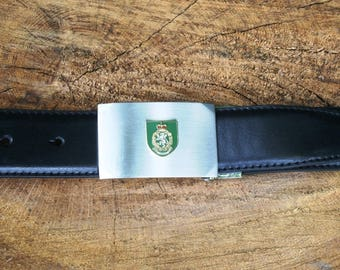 WRAC Design Belt and Buckle Set Ideal Military Gift ME52