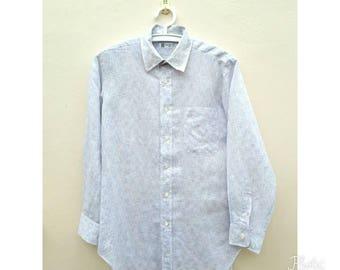 Vintage LANVIN Men shirt Size M