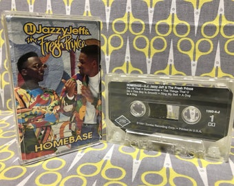 Homebase by DJ Jazzy Jeff and The Fresh Prince Cassette Tape rap
