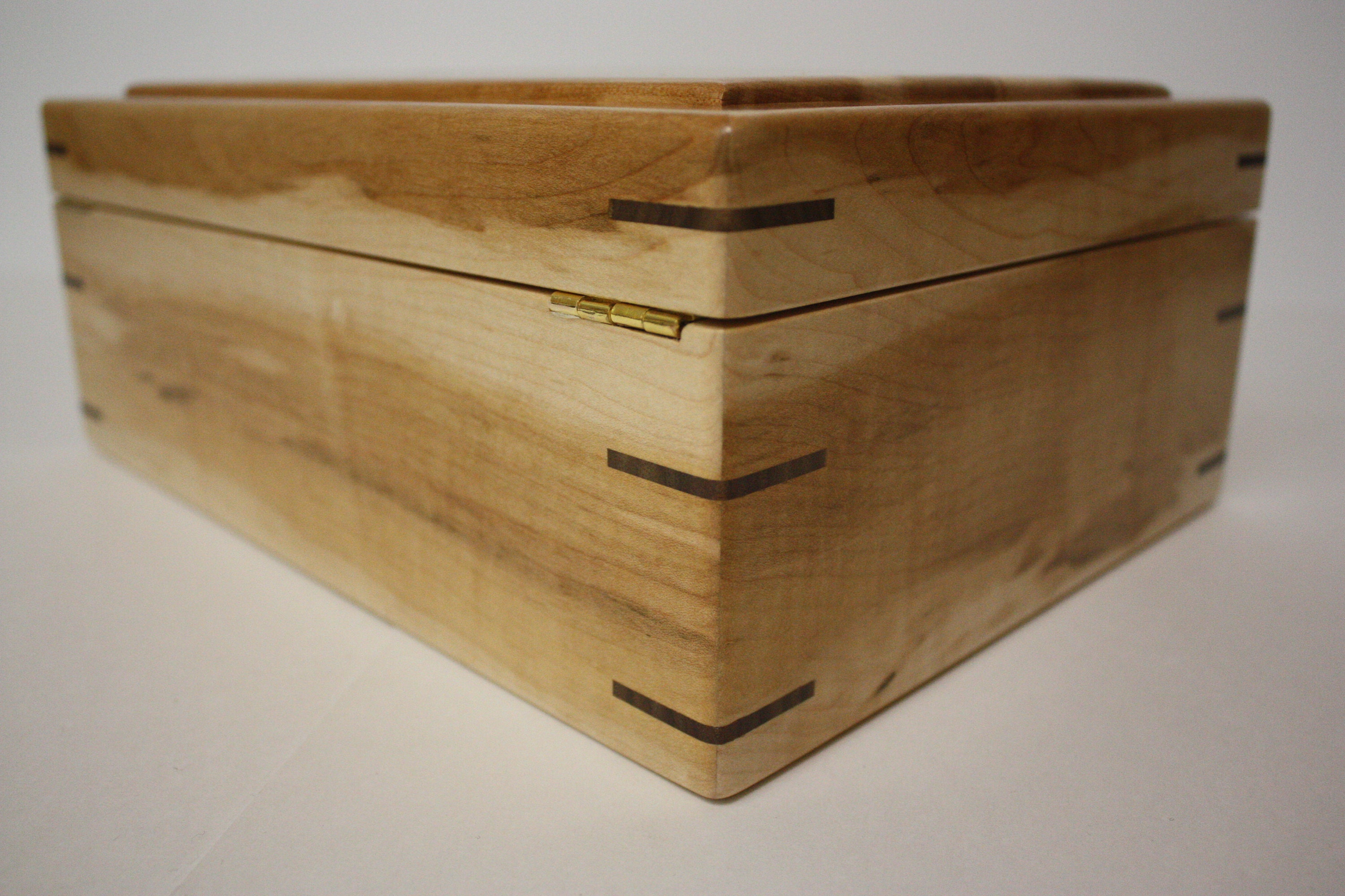 Wood Box with Mitered Corners