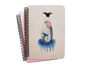 Mermaid Series Spiral Notebook 2