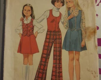 Simplicity Children's Pattern Size 8  #6536