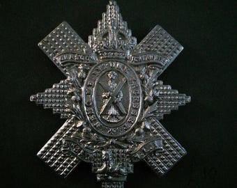 Cap badge Glasgow Highlanders 9th Battalion Highland Light Infantry