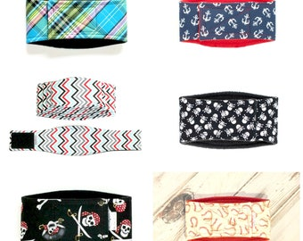 XXS-LONG Male Dog Belly Band, dog diaper, belly bands by trina, dog wrap