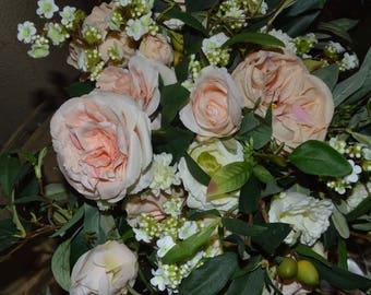 Bridal Bouquet, Brides Bouquet, Wedding Bouquet, Wedding Flowers, Wedding Decor, Brides Bouquets,  Rose Bouquet, Garden Bouquet