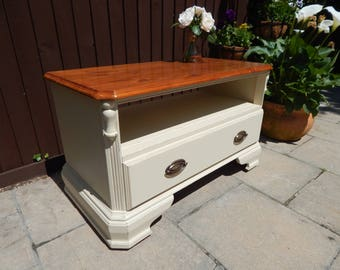 "Solid Pine TV cabinet by ""Ducal"" Shabby chic"