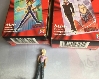 "2"" yugioh action figure figurine and puzzles"