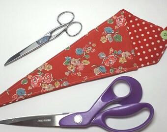 Scissor Pouch Scissor Keeper Dressmaking Cath Kidston Fabric Craft Crafter Hairdresser Gift Kitchen Doublesided