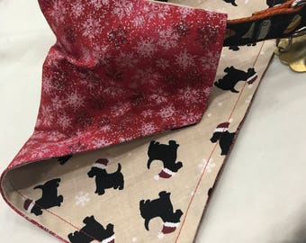 Dog collar Scarves - small medium and large