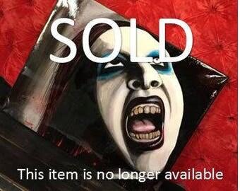 Marilyn Manson - Painting
