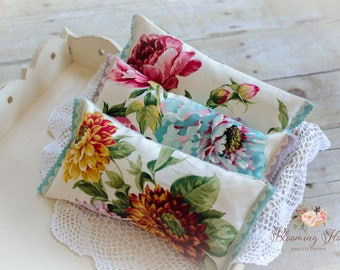RTS Newborn posing pillow, Pillow for newborn, Photography prop pillow, Floral Pillow, Newborn Floral pillow, Vintage Floral Pillow.