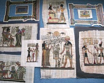 Original Egypt papyrus set