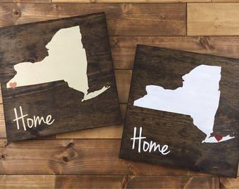 Handmade Wooden Signs On Long Island