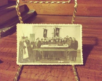 Small Vintage Funeral Postmortem Photograph