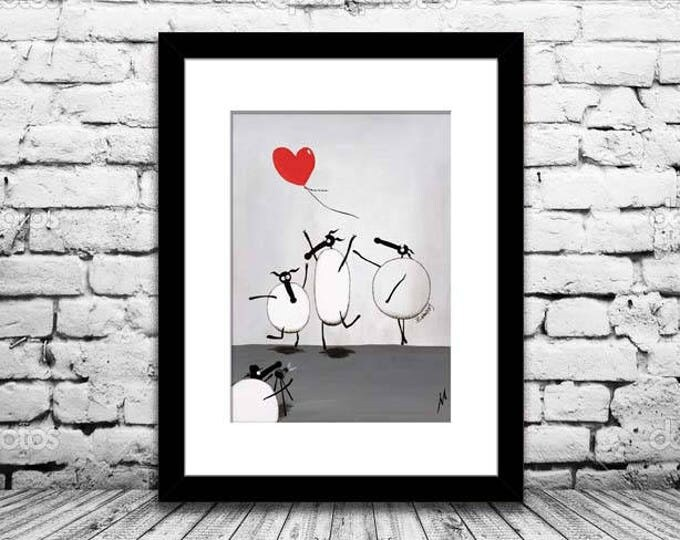 """Featured listing image: """"Baanksy"""" (Limited Edition Print)"""