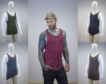 Custom Contrast Layering Tank || 125 Style & Color Options ||