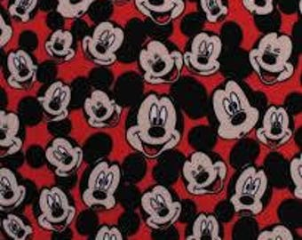 Mickey Mouse hand tied fleece blanket