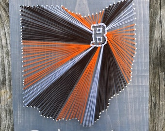 Cleveland browns stringart