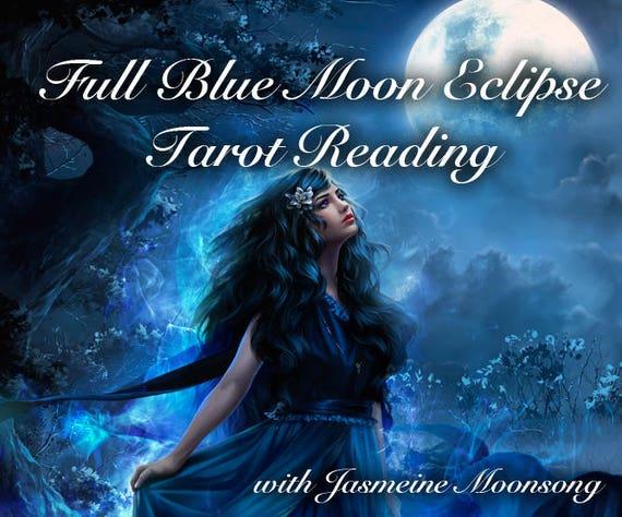 Full Blue Moon Eclipse Tarot Reading