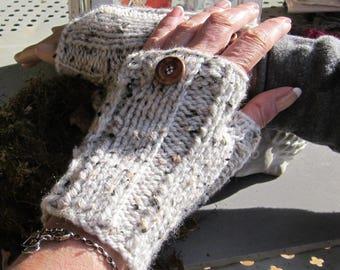 fingerless gloves with thumb women Bohemian style