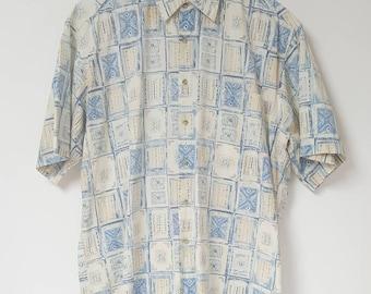 Vintage Pierre Cardin Patterned Shirt