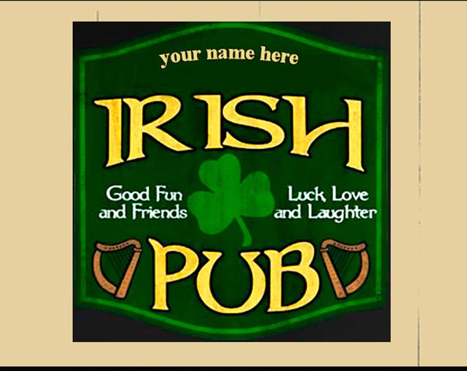 Featured listing image: Irish Pub Sign