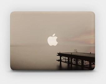 Transparent MacBook Skin MacBook Sticker MacBook Decal Laptop Skin  MacBook Air  MacBook Pro  – Sunset Pier