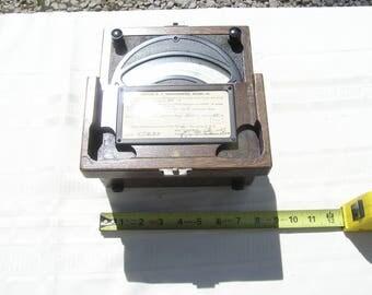 1947 Weston D.C. Milliammeter Model 45