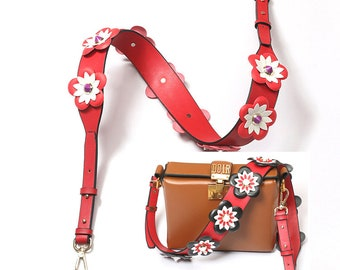 """8 colors 52.5"""" TO 47.3 """" Adjustable Bag Strap  leather Removable Purse Strap Interchangeable Strap Replacement Handle Chain WD028"""