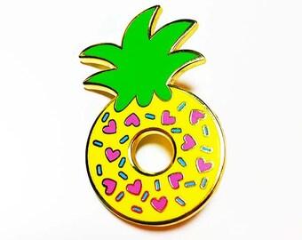Pineapple Donut Pin