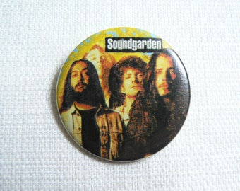 Vintage 90s Soundgarden Pin / Button / Badge