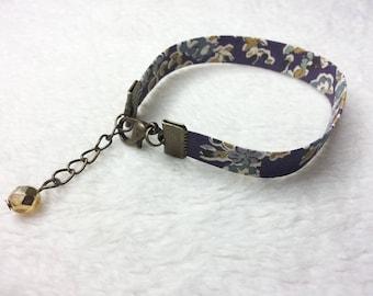 Liberty bracelet bronze purple Tatum