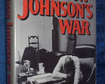 Lyndon Johnson's War Larry Berman The Road To Stalemate In Vietnam HCDJ 1st Edition Ex Library 1989
