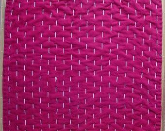 Zokin, dust rag, vintage Japanese cotton fabric